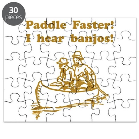 Paddle Faster! Style A Puzzle