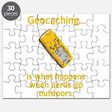 Geocaching Nerds Puzzle