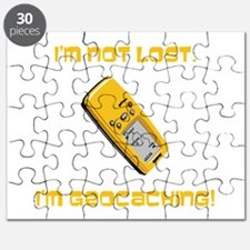 I'm not lost. I'm geocaching. Puzzle