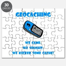 Geocaching Kick Some Cache! Puzzle