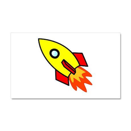Rocket Car Magnet 20 x 12
