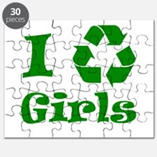 I Recycle Girls! Puzzle