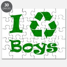 I Recycle Boys! Puzzle