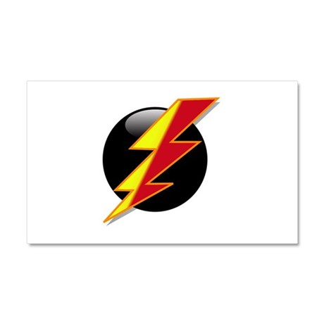 Flash Bolt Car Magnet 20 x 12