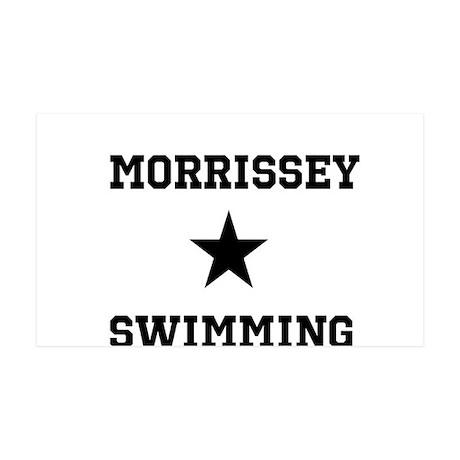 Morrissey Swimming 38.5 x 24.5 Wall Peel