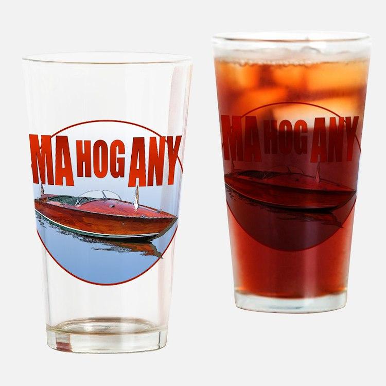 Cute Mahogany Drinking Glass