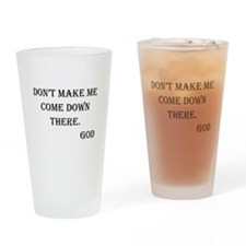 Parenting on High Drinking Glass