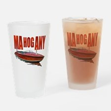 Unique Mahogany Drinking Glass