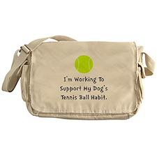 Dogs Tennis Ball Messenger Bag