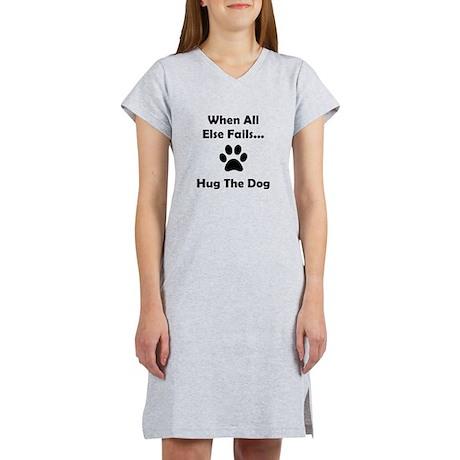 Hug The Dog Women's Nightshirt