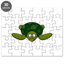 Cartoon Turtle Puzzle