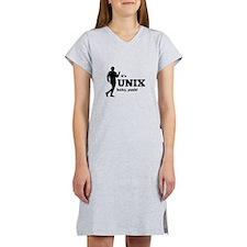 Unix Baby Yeah Women's Nightshirt