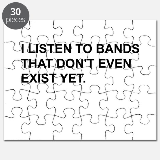 Bands Don't Exist Puzzle