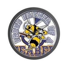 SeaBee Father Wall Clock
