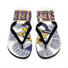 SeaBee Father Flip Flops