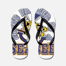 SeaBee Father Flip Flops