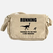 Running Motivation Messenger Bag
