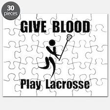 Lacrosse Give Blood Puzzle