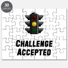 Challenge Accepted Light Puzzle
