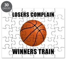 Basketball Winners Train Puzzle