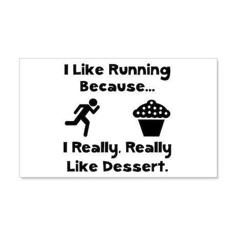 Running Dessert 22x14 Wall Peel