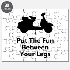 Scooter Fun Puzzle