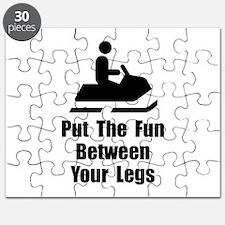 Snowmobile Fun Puzzle