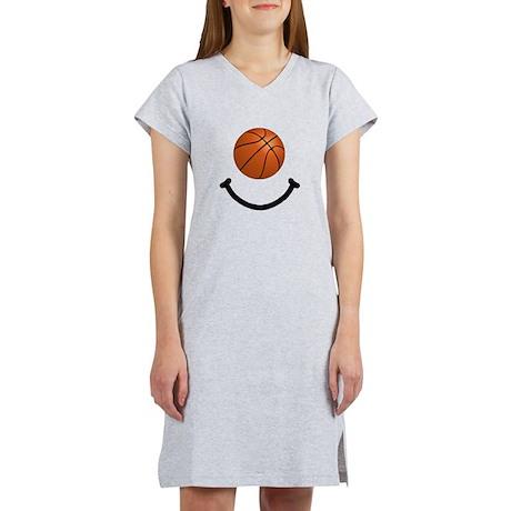 Basketball Smile Women's Nightshirt