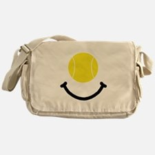 Tennis Smile Messenger Bag