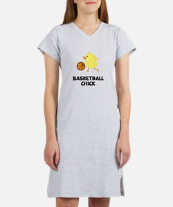 Basketball Chick Women's Nightshirt