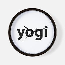 Yogi Wall Clock