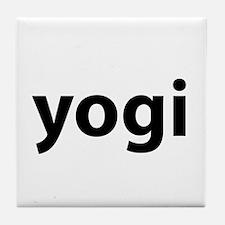 Yogi Tile Coaster