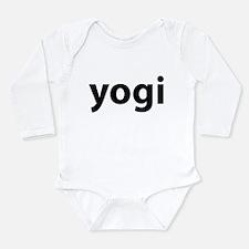 Yogi Long Sleeve Infant Bodysuit