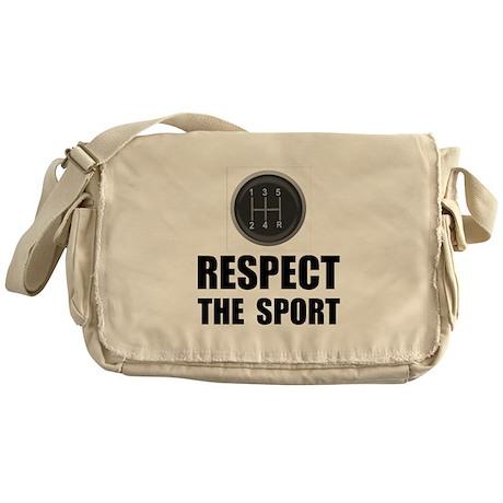 Respect Racing Messenger Bag