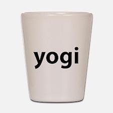Yogi Shot Glass