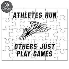 Athletes Run Puzzle