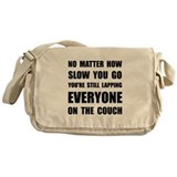 Running couch Canvas Messenger Bags