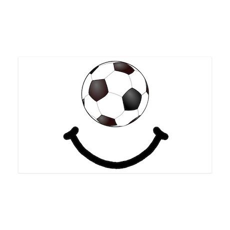 Soccer Smile 38.5 x 24.5 Wall Peel