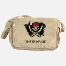 Pirate Flag Personalize! Messenger Bag