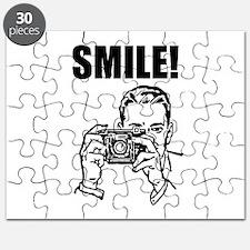 Vintage Camera Smile Puzzle