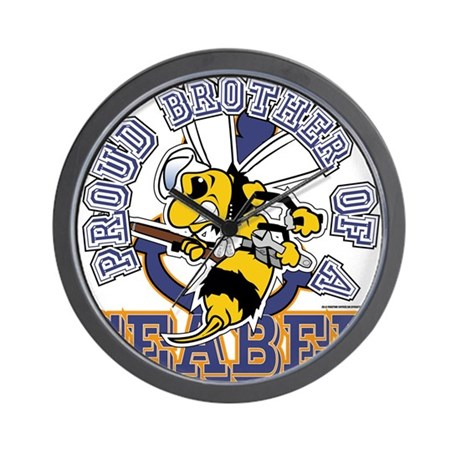 SeaBee Brother Wall Clock