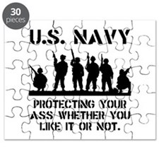 Navy Protect Puzzle