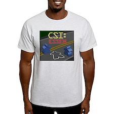 CSI: Essen Ash Grey T-Shirt