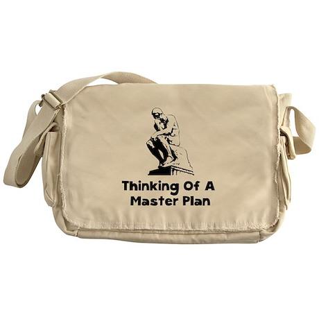 Master Plan Messenger Bag