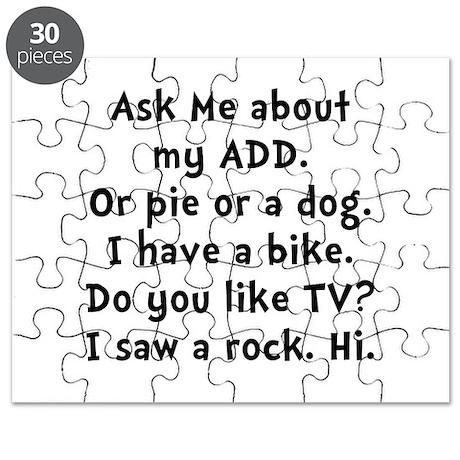 My ADD Puzzle