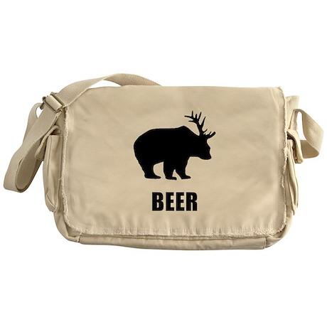Beer Bear Messenger Bag