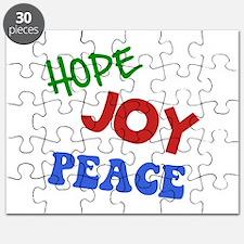 Hope Joy Peace Puzzle