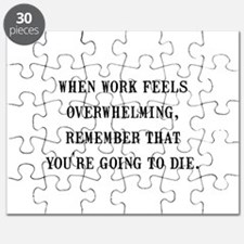 Work Overwhelming Puzzle