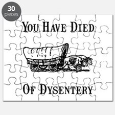 Died Of Dysentery Puzzle