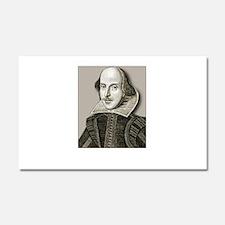 Shakespeare Hos Car Magnet 20 x 12